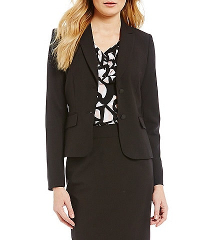 da9027d6c79298 Calvin Klein Notch-Collar Jacket
