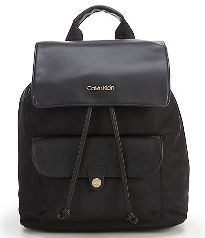 Calvin Klein Nylon Pocket Tote Backpack