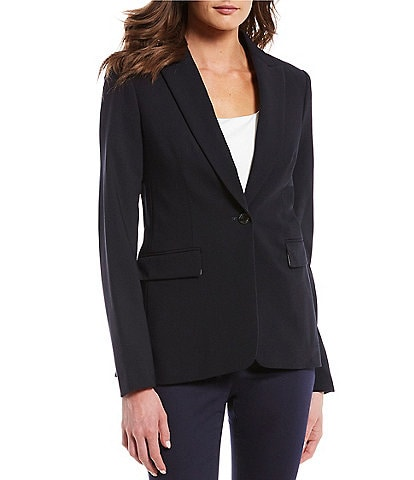 Calvin Klein One-Button Jacket