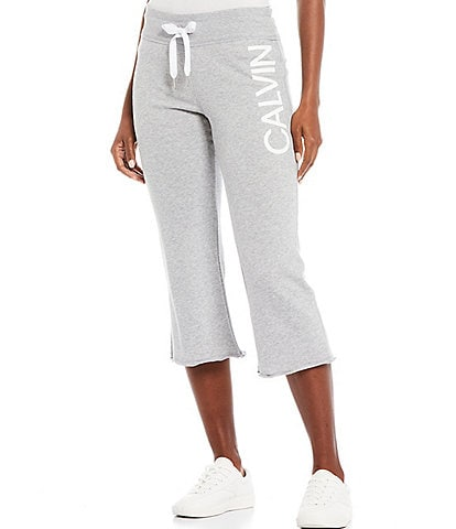Calvin Klein Performance Calvin Logo Kick Flare Crop Pants