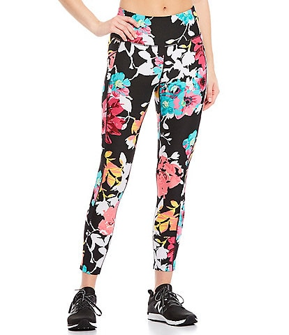 Calvin Klein Performance Floral Print 7/8 Tight