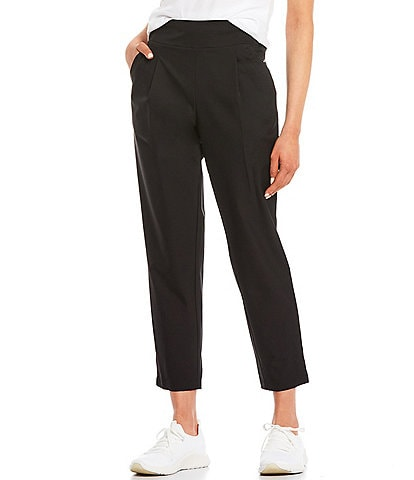 Calvin Klein Performance Pleat Front Tapered Trouser