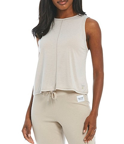 Calvin Klein Performance Relaxed Inset Crop Tank