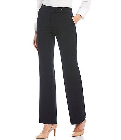 Calvin Klein Petite Classic Fit Flare-Leg Pants