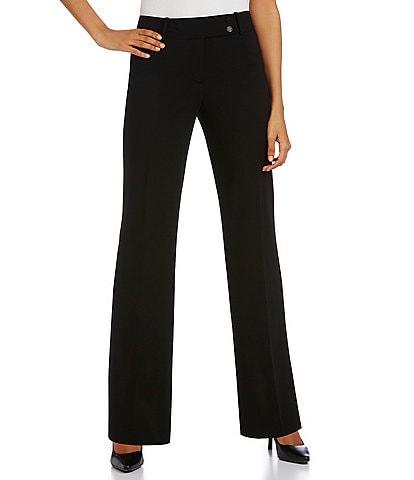 Calvin Klein Petites Curvy Straight Leg Pants