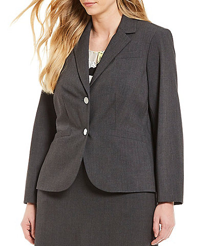 Grey Plus Size Business Dress Suits Dillard S