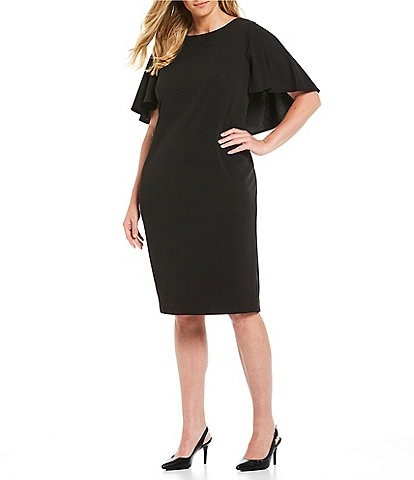 9f9247cf685 Black Women's Plus-Size Dresses & Gowns | Dillard's