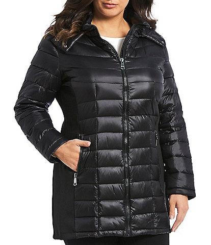 Calvin Klein Plus Size Maxi Puffer Coat