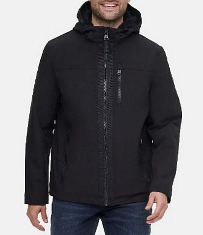 Calvin Klein Sherpa Lined Soft-Shell Hooded Jacket