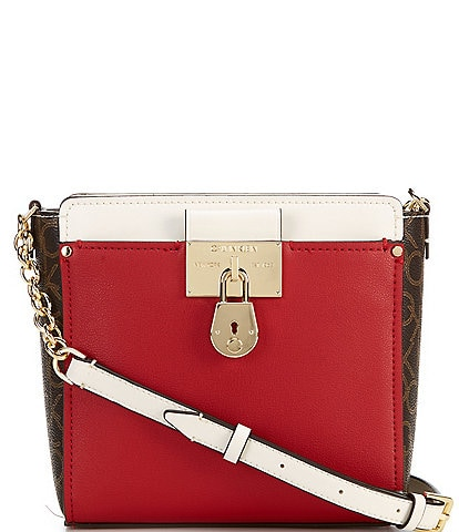Calvin Klein Signature Camille Small Crossbody Bag