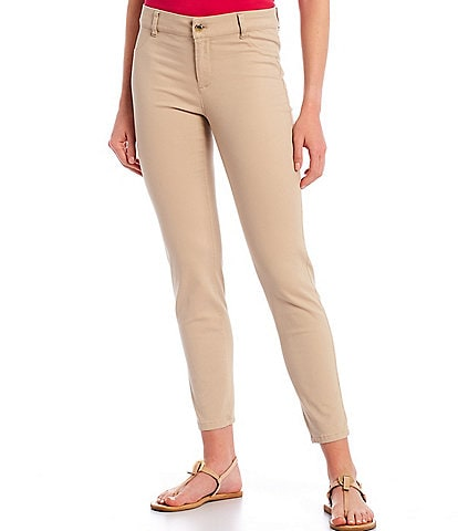 Calvin Klein Stretch Twill Cotton-Blend 4-Pocket Twill Pants