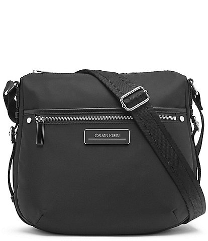 Calvin Klein Sussex Nylon Messenger Crossbody Bag