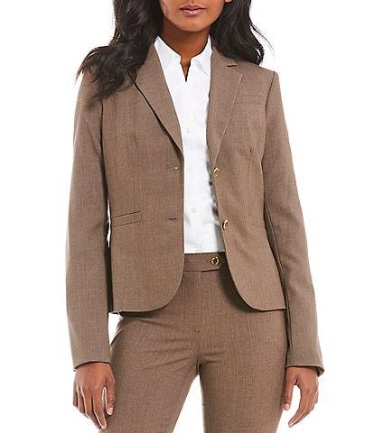 Calvin Klein Two-Button Suit Jacket