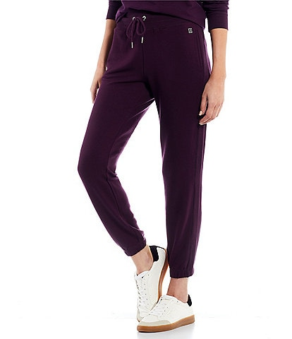 Calvin Klein Washed French Terry Drawstring Waist Joggers