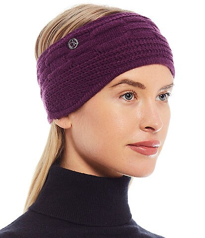 Calvin Klein Women's Chain Cable Knit Headband
