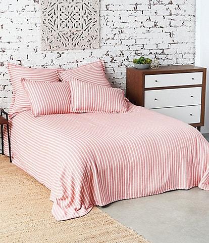 Carol and Frank Bengal Stripe Bed Blanket