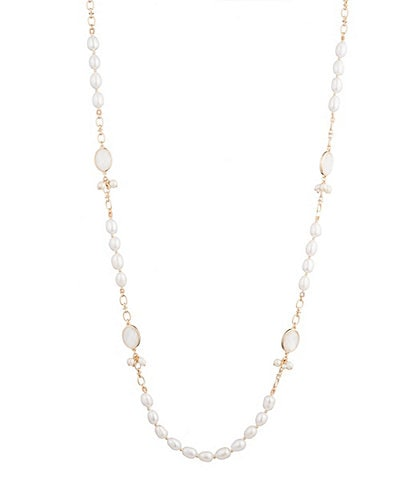 Carolee Illusion Pearl Necklace