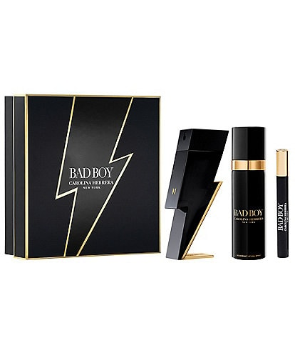 Carolina Herrera Bad Boy 3-Piece Gift Set