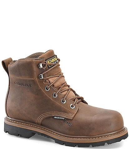Carolina Men's  6#double; Waterproof Steel Toe Dormer Work Boots