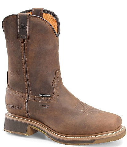 Carolina Men's 10#double; Anchor Waterproof Composite Roper Work Boots