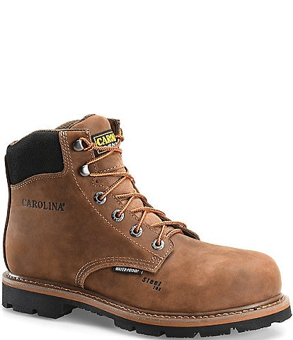 Carolina Men's 6#double; Waterproof Steel Toe Work Boot