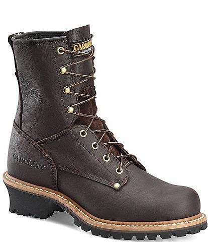 Carolina Men's Elm 8#double; Logger Work Boots