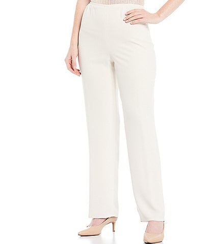 Caroline Rose Pull-On Straight Leg Pants