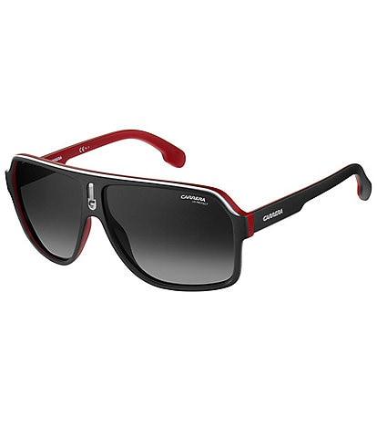 Carrera Flag Polarized Square Navigator Sunglasses