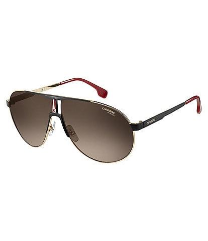 Carrera Gradient Metal Aviator Sunglasses