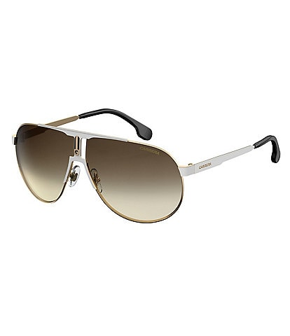 Carrera Gradient Metal Aviator Sunglasses