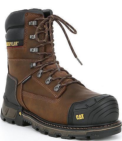 Cat Footwear Men's Excavator XL 8#double;Waterproof Composite Toe Work Boot
