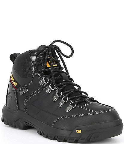 Cat Footwear Men's Threshold Waterproof Soft Toe Work Boot