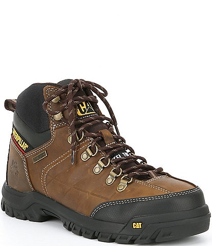 Cat Footwear Men's Threshold Waterproof Steel Toe Work Boot