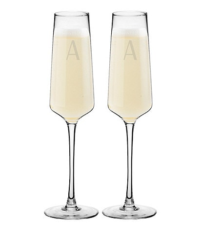 Cathy's Concepts 9.5oz Champagne Estate Glasses, Set of 2