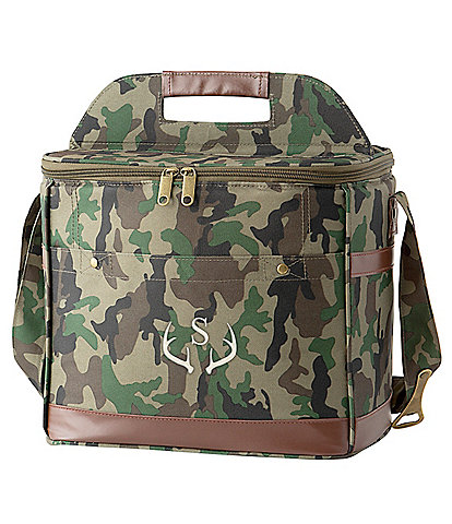 Cathy's Concepts Initial 12 Pack Camo Cooler