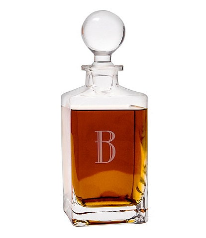 Cathy's Concepts Personalized 32-oz. Square Whiskey Decanter