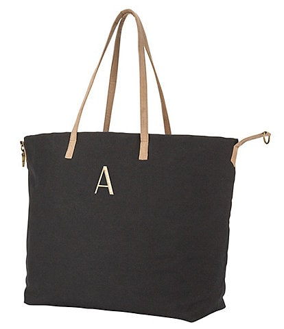 Cathy's Concepts Personalized Black Overnight Tote Bag