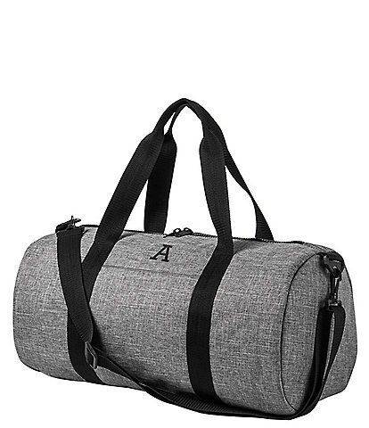 Cathy's Concepts Personalized Grey Duffle