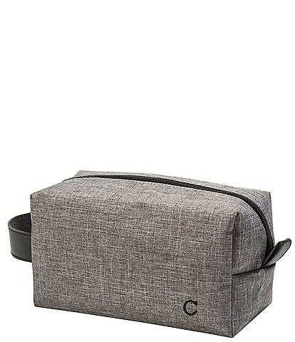 Cathy S Concepts Personalized Grey Travel Kit