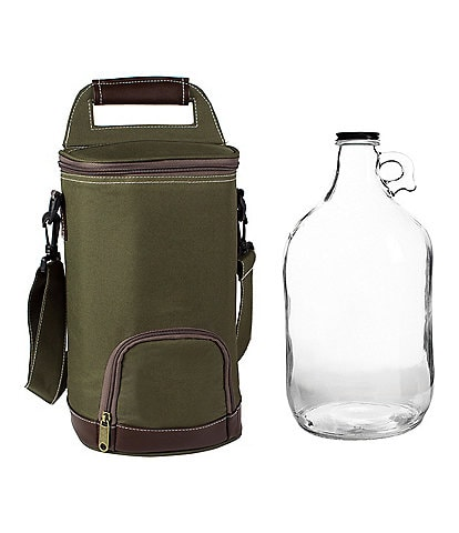 Cathy's Concepts Personalized Insulated Growler Cooler With Clear Growler