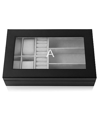 Cathy's Concepts Personalized Unisex Jewelry & Watch Box