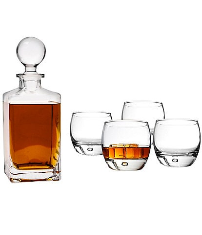 Cathy's Concepts Personalized Square Decanter Set