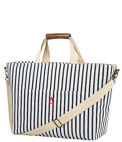 Cathy's Concepts Personalized Striped Cooler Tote