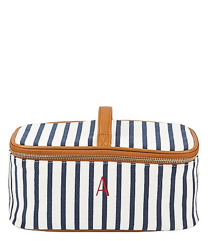 Cathy's Concepts Personalized Striped Cosmetic Case