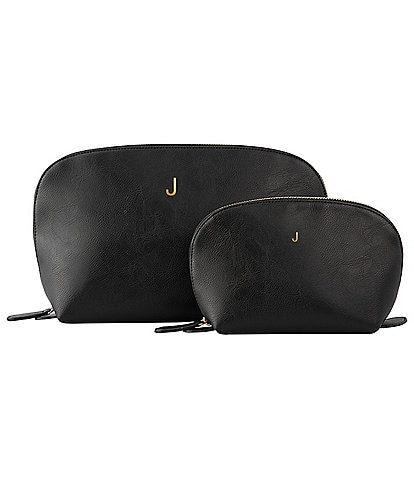 Cathy's Concepts Initial Vegan Leather Travel Set