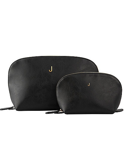 Cathy's Concepts Personalized Vegan Leather Travel Set