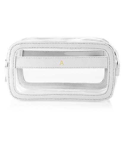 Cathy's Concepts Personalized White Small Travel Cosmetic Case