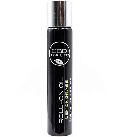 CBD for Life Roll-On Oil Topical CBD Pain Relief - Lemongrass