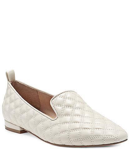 CC Corso Como Alanea Leather Quilted Loafers