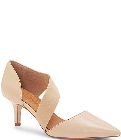 CC Corso Como Denice Leather Asymmetrical Pumps